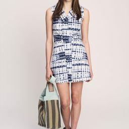 Satina Sleeveless Shirt Dress   Derek Lam