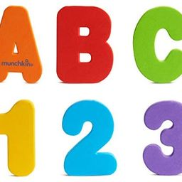 Munchkin Letters and Numbers Bath Toys, 36 Count   Amazon (US)