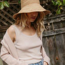 Crochet Raffia Sun Hat | Jenni Kayne