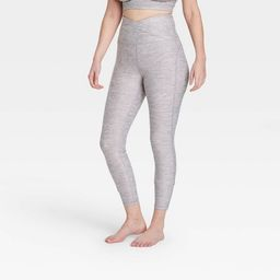 """Women's Contour Curvy Brushed Back Ultra High-Waisted 7/8 Leggings 25"""" - All in Motion™ 