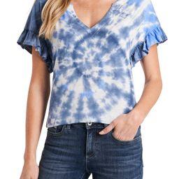 Women's Cece Tie Dye T-Shirt, Size X-Small - Blue   Nordstrom