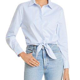 Tie Hem Shirt | Bloomingdale's (US)