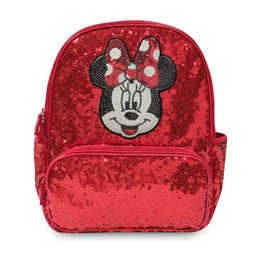 Minnie Mouse Red Sequin Backpack – Personalized   shopDisney