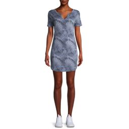 Como Blu Women's Athleisure T-Shirt Dress | Walmart (US)