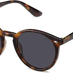 SOJOS Classic Retro Round Polarized Sunglasses for Women Men SJ2069 ALL ME | Amazon (US)