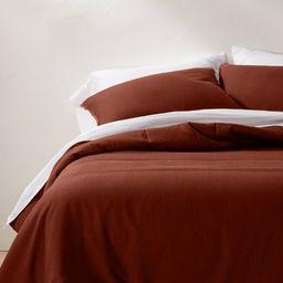 Heavyweight Linen Blend Comforter & Sham Set - Casaluna™ | Target