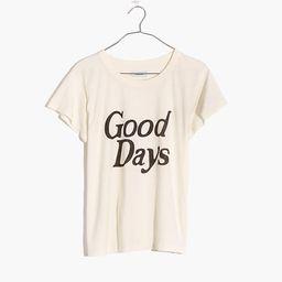 Good Days Graphic Softfade Cotton Tee | Madewell
