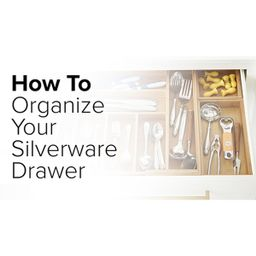 Bamboo Stacking Drawer Organizer | The Container Store