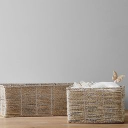 Silver Rope Storage | Pottery Barn Kids