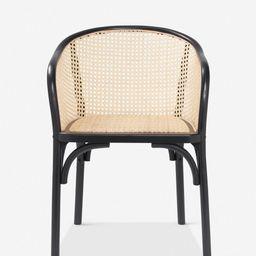 Summer Dining Chair, Black | Lulu and Georgia