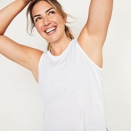 UltraLite All-Day Performance Crop Tank Top for Women   Old Navy (US)
