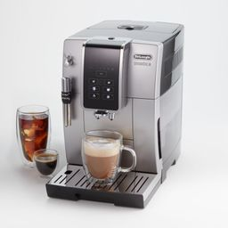 De'Longhi Dinamica Fully Automatic Coffee & Espresso Machine with Adjustable Frother + Reviews | ... | Crate & Barrel