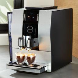 Jura Z6 Espresso Machine | Crate and Barrel | Crate & Barrel