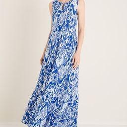 Ikat-Print Tiered Maxi Dress | Chico's