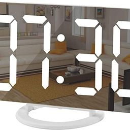 Digital Clock Large Display, LED Electric Alarm Clocks Mirror Surface for Makeup with Diming Mode...   Amazon (US)