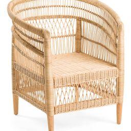 Melawi Rattan Chair | TJ Maxx