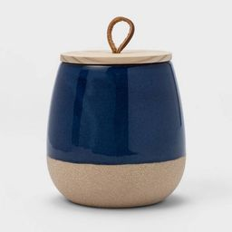 10oz Ceramic Candle with Wood Lid - Threshold™ | Target