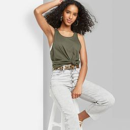 Women's Relaxed Fit Tank Top - Wild Fable™   Target