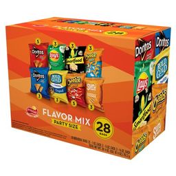 Frito-Lay Flavor Mix Snacks Variety Pack, Party Size, 28 Count | Walmart Online Grocery