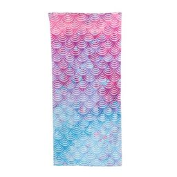 Mainstays Printed Sheared Beach Towel, Scallop Shimmer | Walmart Online Grocery