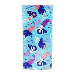 Mainstays Printed Sheared Beach Towel, Mermaid | Walmart Online Grocery