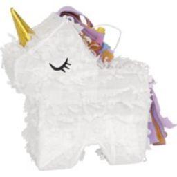 Mini Unicorn Pinata Favor Decoration | Walmart Online Grocery