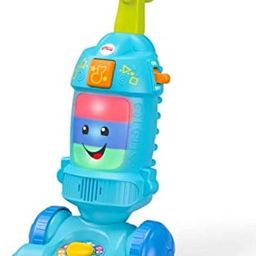 Fisher-Price Laugh & Learn Light-up Learning Vacuum   Amazon (US)