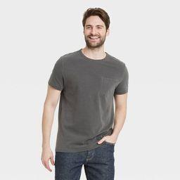Men's Short Sleeve Crewneck T-Shirt - Goodfellow & Co™   Target