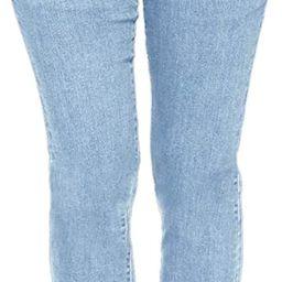 Pofash Women's Denim Jogger Elastic Waist Ankle Cuff Pants Jeans with Buttons Pockets   Amazon (US)