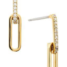 Double Link Cubic Zirconia Earrings | Nordstrom