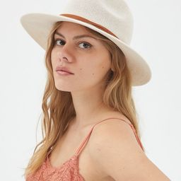 UO Ellie Woven Panama Hat | Urban Outfitters (US and RoW)