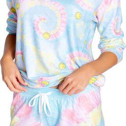Smiley Tie Dye Sweatshirt | Nordstrom