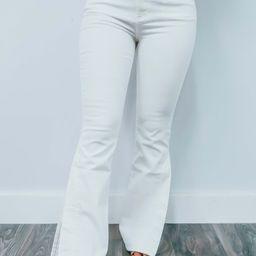 Casual Friday Pants: White | Shophopes