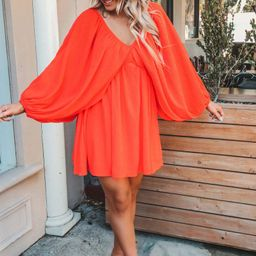 RESTOCK: Very Becoming Dress: Coral Red | Shophopes