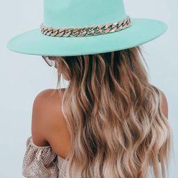 Vent To Me Hat: Sage/Gold | Shophopes