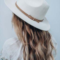Barn Gate Hat: Ivory/Tan | Shophopes