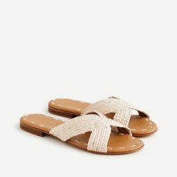 Carrie Forbes X J.Crew Salon sandals | J.Crew US