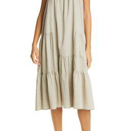 Jenni Kayne Tiered Cotton & Linen Sundress | Nordstrom | Nordstrom
