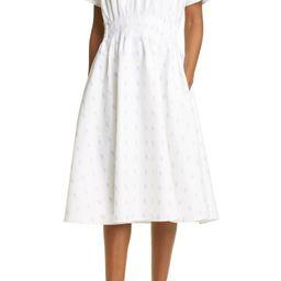 Club Monaco Print Flare Dress (Regular & Petite) | Nordstrom | Nordstrom