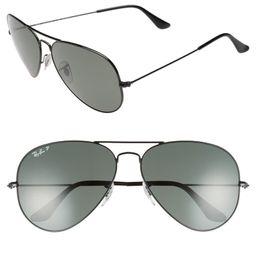 Original 62mm Polarized Aviator Sunglasses   Nordstrom