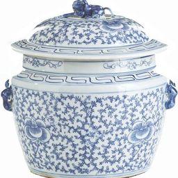 Lidded Rice Jar Vase Floral Colors May Vary White Blue Varying Black New  LA-326 | Walmart (US)