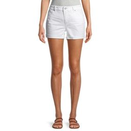 Time and Tru Women's Mid Rise Core Shorts   Walmart (US)