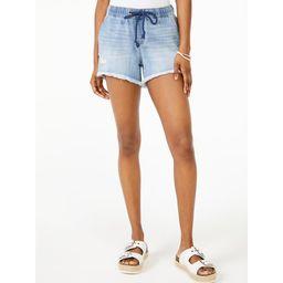 Scoop Women's Pull-On Shorts   Walmart (US)