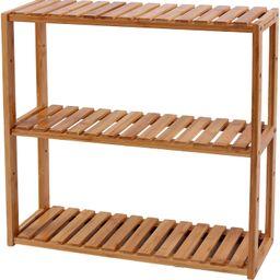 SONGMICS bamboo bathroom shelves, 3-Tier Adjustable Layer Rack, Bathroom Towel Shelf, Utility Sto... | Amazon (US)