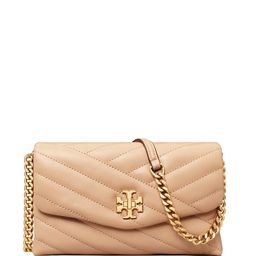 Kira Chevron Quilted Leather Chain Wallet   Bloomingdale's (US)