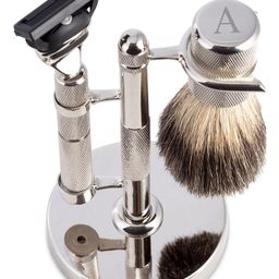 Men's Monogrammed Razor & Brush Set | Macys (US)