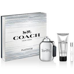Men's 3-Pc. COACH Platinum Eau de Parfum Gift Set | Macys (US)