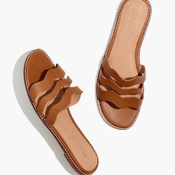 The Wave Slide Sandal in Vachetta Leather | Madewell