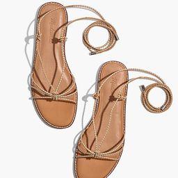 The Katya Lace-Up Sandal | Madewell