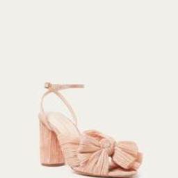 Camellia Peach Bow Heel | Loeffler Randall